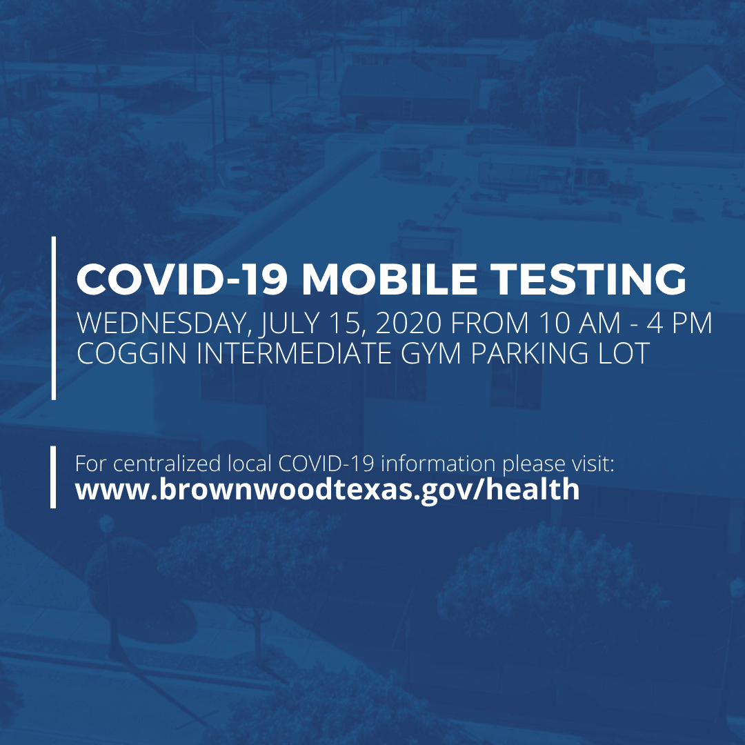 Covid-19 Mobile Testing - July 15, 2020