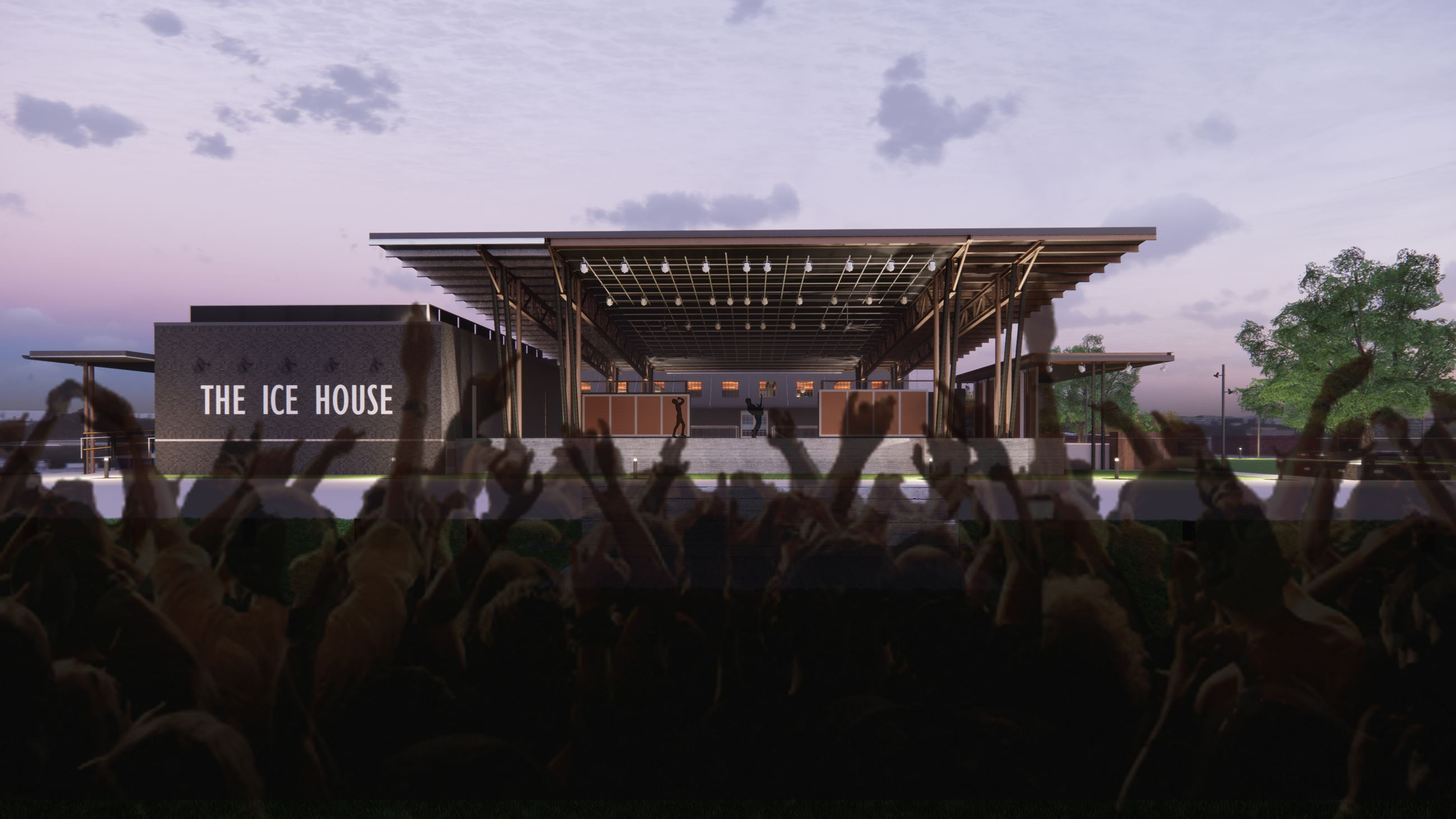Outdoor Stage - Large Event